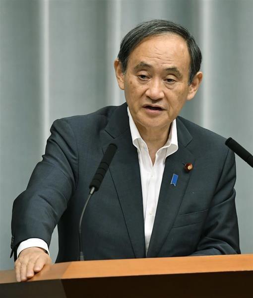 日本內閣官房長官菅義偉25日在記者會表示,日本關心台布斷交一事對兩岸關係的影響。(取自產經新聞)