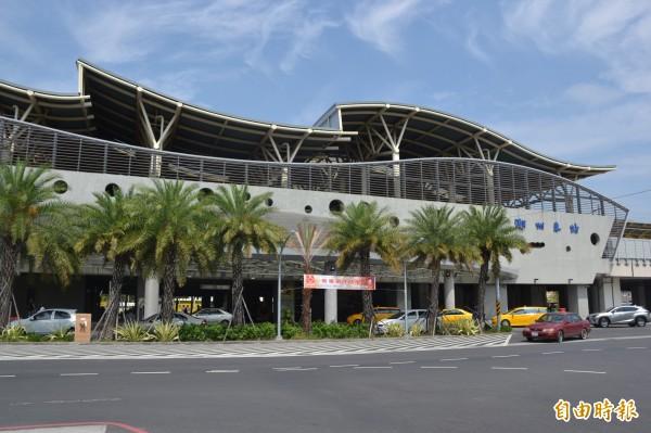 屏東潮州火車站將與公路轉運站共站。(記者侯承旭攝)