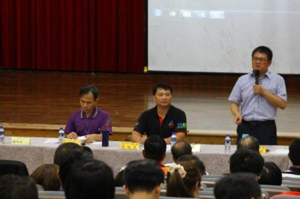南市教育產業工會及台南市教師會今天舉行會員代表大會。(記者洪瑞琴翻攝)