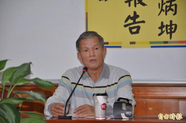 苗栗市長邱炳坤25日登龜山島,在下山途中昏迷,經僅急送醫,脫離險境。(資料照,記者彭健禮攝)