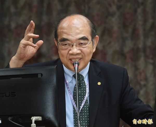 教育部長吳茂昆今天下午請辭獲准。(資料照)