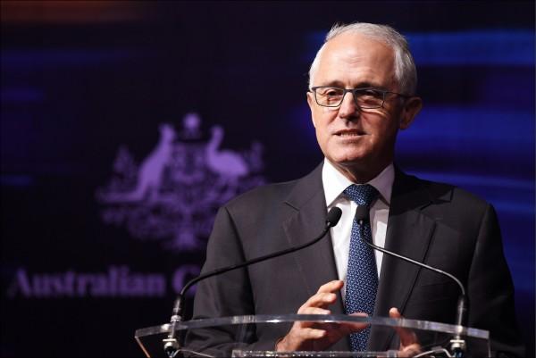 澳洲總理滕博爾日前展開外國干預澳洲政治的情報調查,特別點名中國干政。(歐新社檔案照)