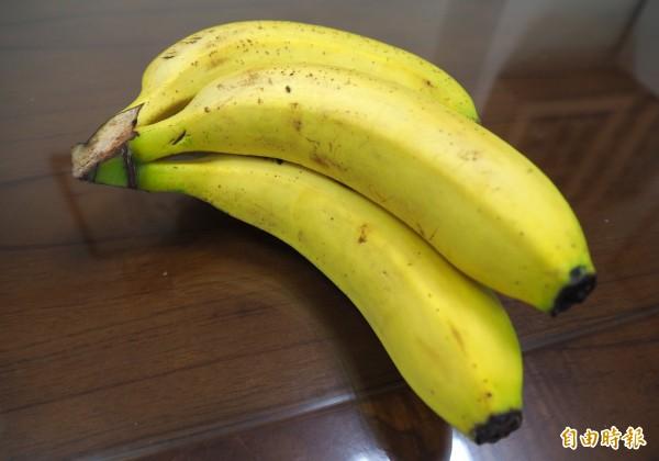今出香蕉盛產。(資料照)
