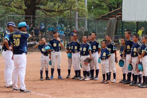 褒忠國小棒球隊這幾年在縣內及縣外表現優異。(褒忠國小提供)