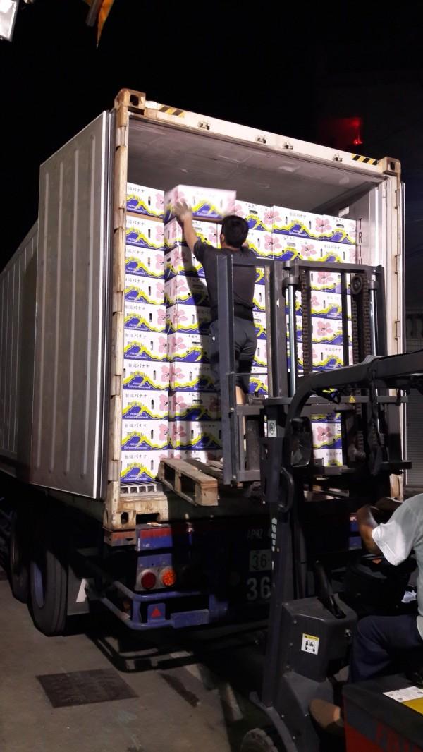 高雄型農協助蕉農以高於市價2成收購青蕉。(記者陳文嬋翻攝)