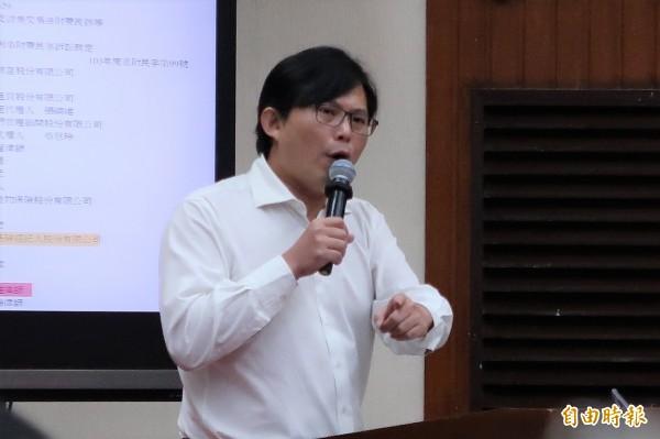 時代力量主席黃國昌。(資料照)