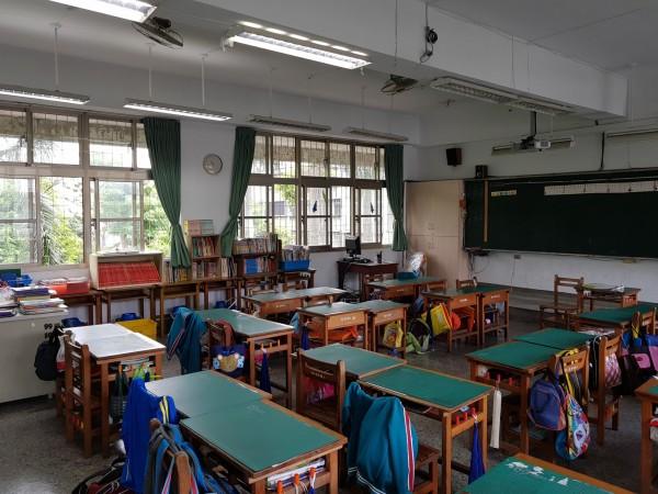 新北市教師會今也發聲明呼籲新北市政府跟進,替新北市國中小教室加裝冷氣。(新北市教師會提供)