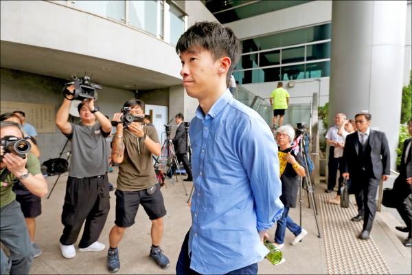 香港本土派政黨「青年新政」前立法會議員梁頌恆。(路透檔案照)