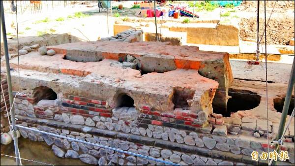 善化區「糖廍連灶遺構」具有稀少性及特殊性,通過登錄為歷史建築。(記者劉婉君攝)