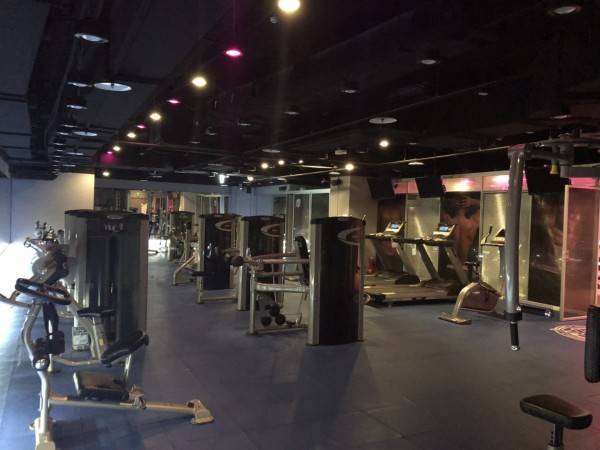 ANIKI是專供同志使用的健身房。(記者黃捷翻攝)