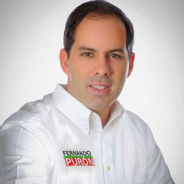墨西哥國會議員候選人普龍(Fernando Puron),強調要正面打擊犯罪,隨後就遭到槍殺。(圖擷自Fernando Puron臉書)