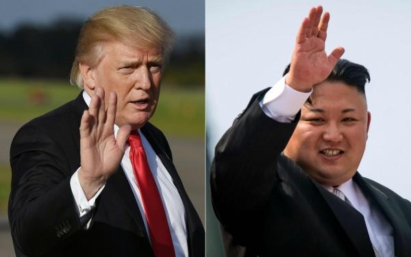 新加坡川金會還沒召開,傳出金正恩已邀請川普7月到平壤舉行第2次峰會。(法新社)