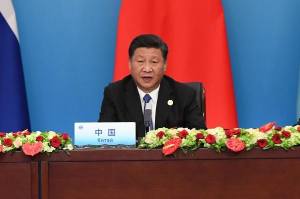 美國智庫新美國安全中心11日公布報告,指中國政府常透過非正式的強制經濟手段,來達到嚇阻他國、推進政策外交的的情況越來越多。圖為中國國家主席習近平。(法新社)