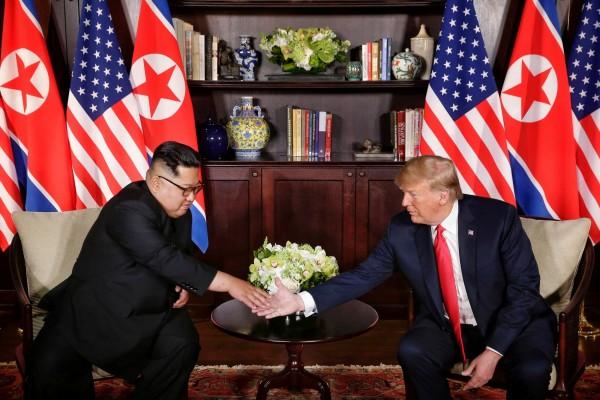 川金會後民調出爐,51%民眾肯定川普應對北韓的方式。(路透)