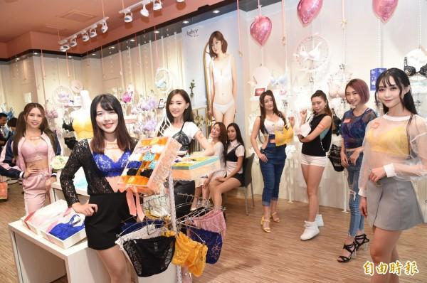 台灣原創內衣第一大通路EASY SHOP,「青年店」進駐高雄鳳山區青年路。(記者張忠義攝)