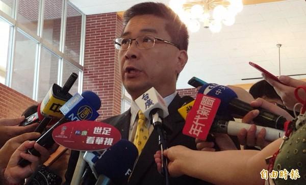 行政院發言人徐國勇。(資料照,記者陳建志攝)