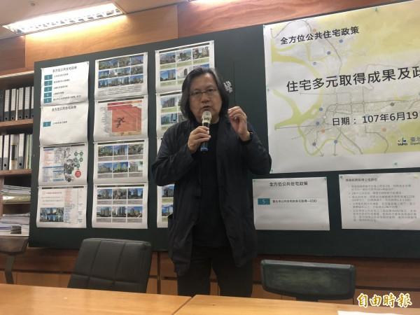 台北市都發局長林洲民。(記者郭安家攝)