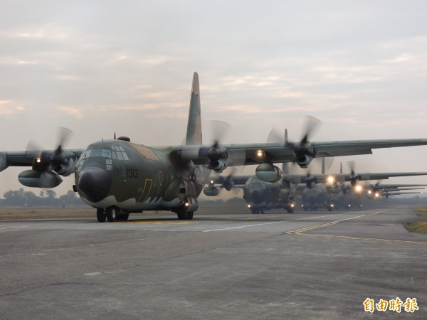 美國參議院通過2019財年國防授權法案,要求美派軍參加台灣漢光演習。圖為漢光演習。(資料照)