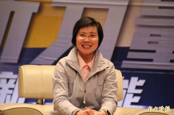 民國黨主席徐欣瑩。(資料照)