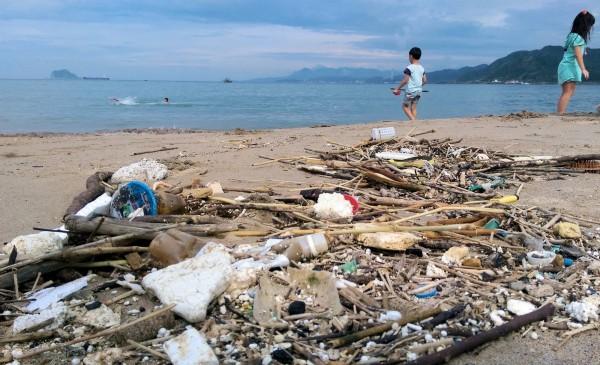 塑膠垃圾已經嚴重污染海洋。(海湧工作室提供)