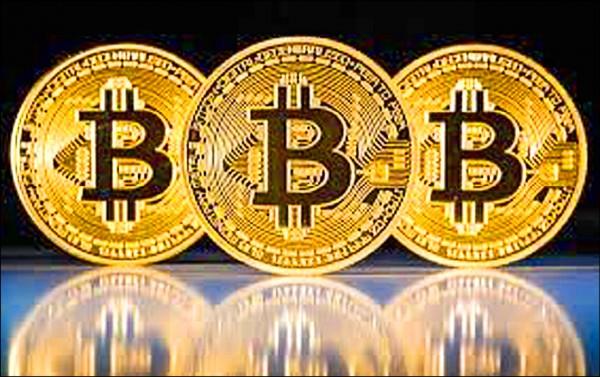 比特幣這種虛擬貨幣被利用來當吸金標的。(記者楊政郡翻攝)