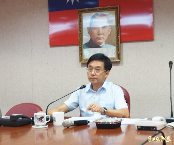 林務局長林華慶。(記者簡惠茹攝)