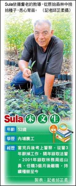 人物速寫─「種樹的男人」Sula 買地封路復育霧台山林