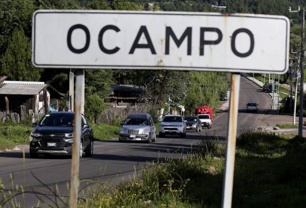 墨西哥奧坎波市(Ocampo)市長候選人華瑞茲(Fernando Ángeles Juárez)在住家外遭人槍殺身亡,奧坎波市警察局全體28名警員涉有重嫌。(法新社)