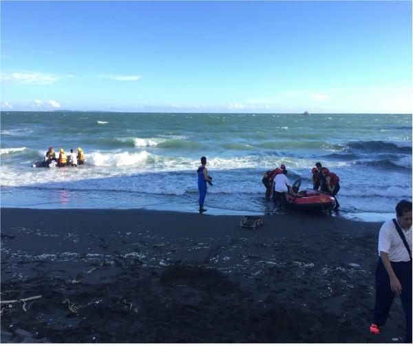 林園區去年發生3起溺斃事件,消防隊呼籲民眾不要前往戲水、游泳。圖為汕尾漁港。(記者洪定宏翻攝)