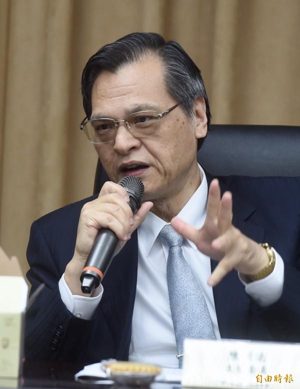 陳明通表示,陸委會的高度是認為新聞報導目的是要增進兩岸之間的了解。(資料照,記者簡榮豐攝)