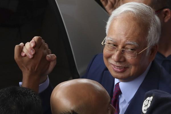 馬來西亞前首相納吉。(歐新社)