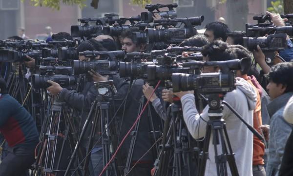 印度自去年以來,就有至少7名記者遇害。圖僅示意,與本新聞無關。(美聯社)