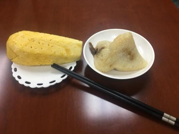 李來希的午餐。(圖擷自李來希臉書)