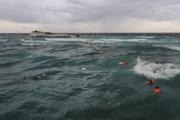 印尼本月3日發生1起渡輪沉船事件,船上共有189名乘客,官方昨(5)日統計共有34人於船難中喪生。(歐新社)