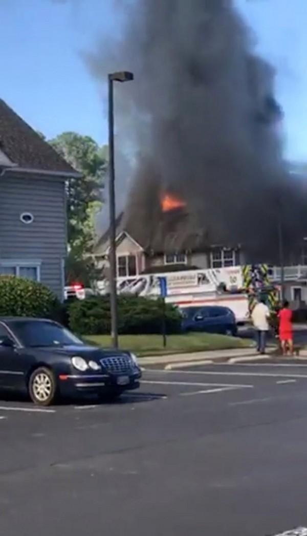 維吉尼亞州驚傳墜機意外,造成一人死亡。(路透)