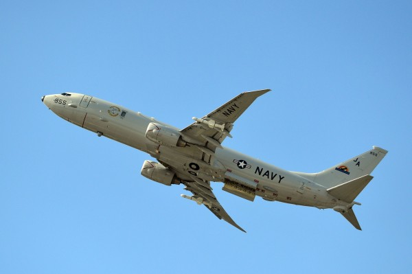 紐西蘭通過美國軍購計畫,將購買4架波音P-8A「海神」反潛巡邏機,原因是為了對抗中國的崛起。(法新社)