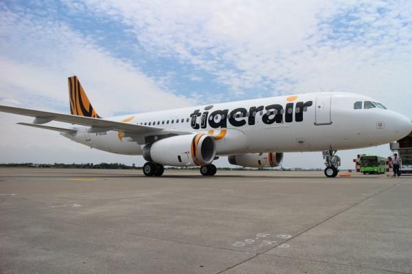 台灣虎航今天宣布航班異動。(資料照,台虎提供)