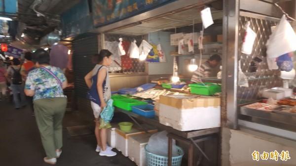 台北市明天各大市場正常營業。(記者楊心慧攝)