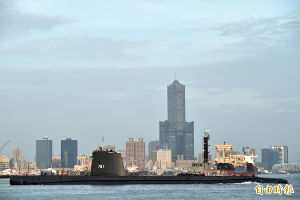 潛艦國造將於2019年3月前進入細部設計階段,此階段目的在於將合約設計圖發展成詳細建造藍圖,傳出有包含日本、印度團隊在內的6家國外廠商提交規劃書。(資料照)