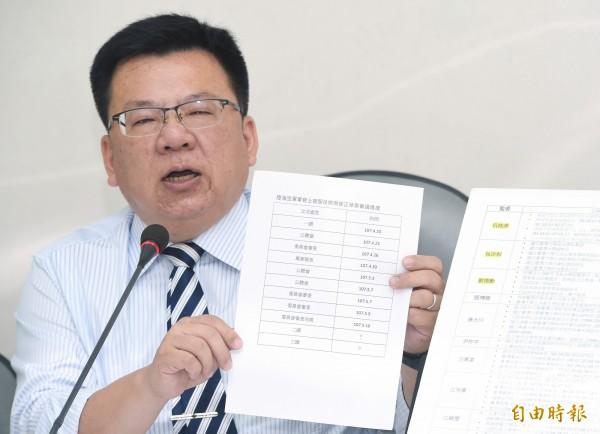 民進黨立委李俊俋。(資料照)