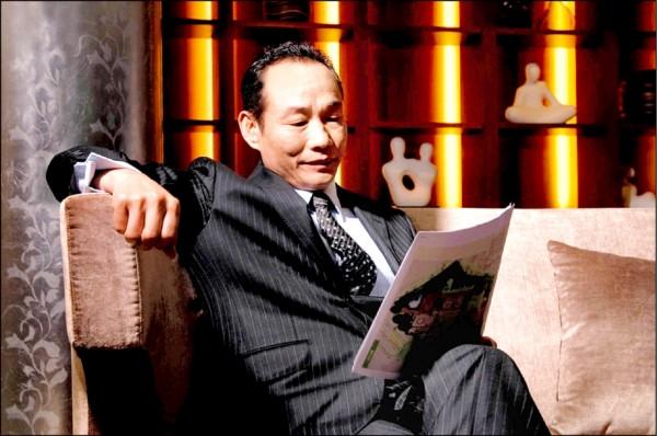國統集團總裁陳振豐。(取自擁恆網頁)