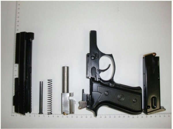 槍枝零件。(示意圖、記者楊政郡翻攝)