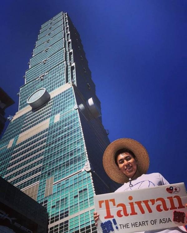 萩原駿介走遍台灣各縣市,拍攝照片及影片宣傳台灣之美。(萩原駿介提供)