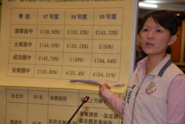 唐儀靜獲民進黨徵召,參加年底選舉。(唐儀靜辦公室提供)