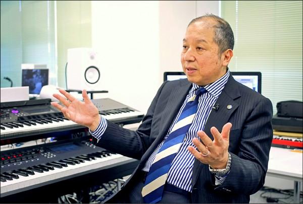 日本「發車音樂」作曲家向谷實。(法新社檔案照)
