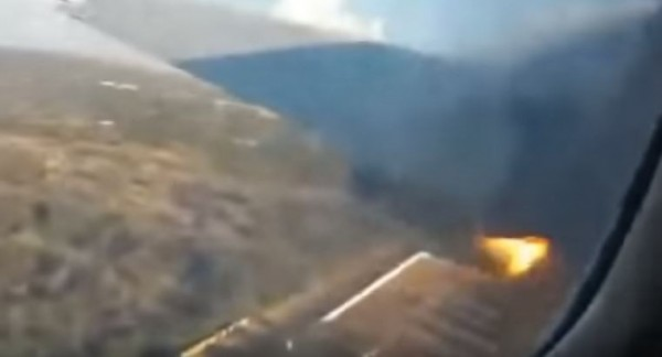 今有一段墜機前60秒的畫面曝光。(圖擷取自YouTube)