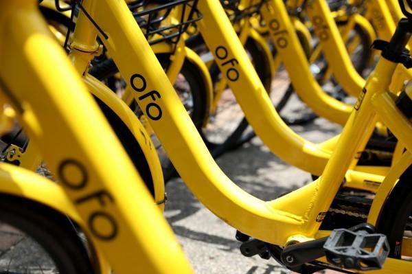 共享單車公司ofo近日又傳將撤出德國市場與縮編美國市場。(彭博)