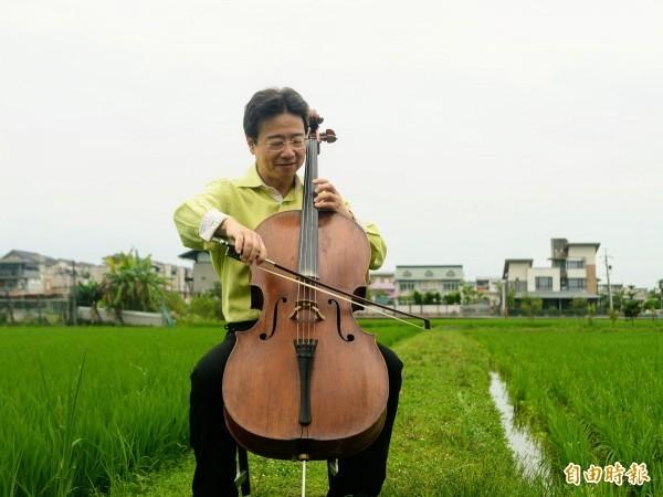 大提琴家張正傑。(資料照)