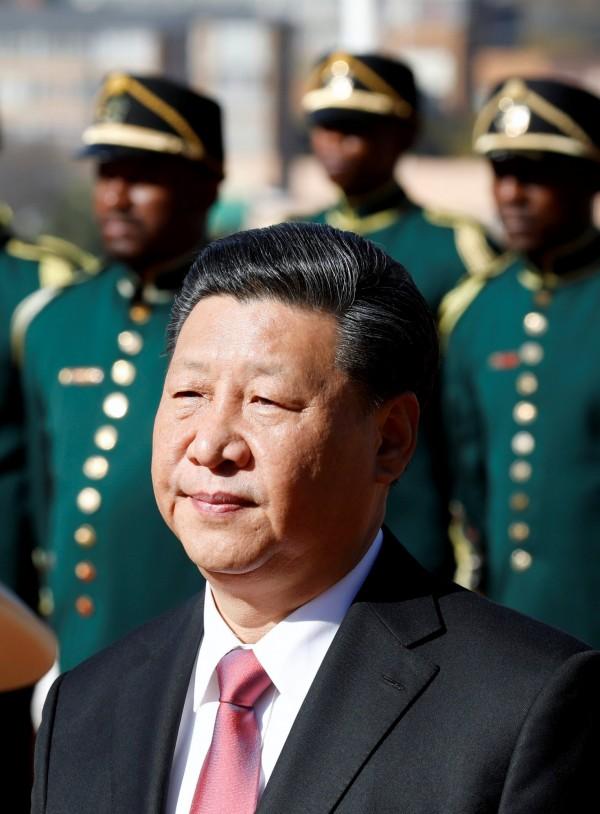 文學家陳芳明形容中國領導人習近平(圖)為失去微笑能力的強人。(路透)