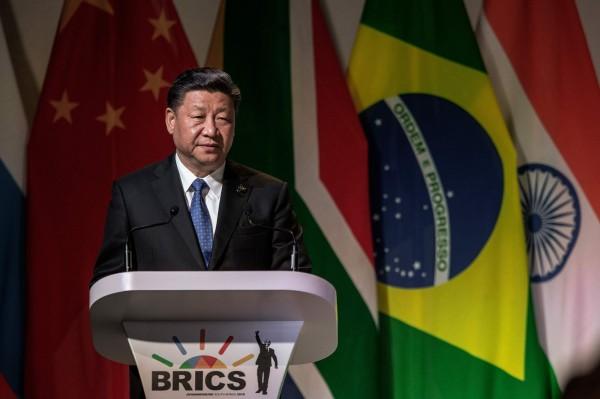 中國國家主席習近平(圖)傳將與俄國總統普廷在南非舉行峰會,聯手抗美援朝。(法新社)